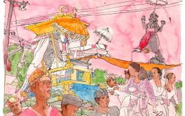 Bali Sketchbook by Pellegrino